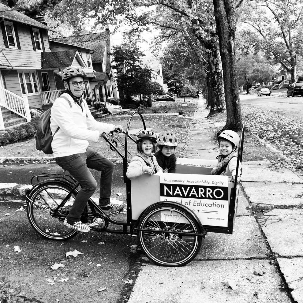 Navarro for Board of Education Campaign Mobile